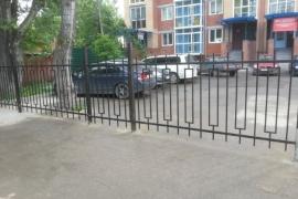 Забор для жилого дома