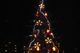 Дизайн оформления новогодней елки